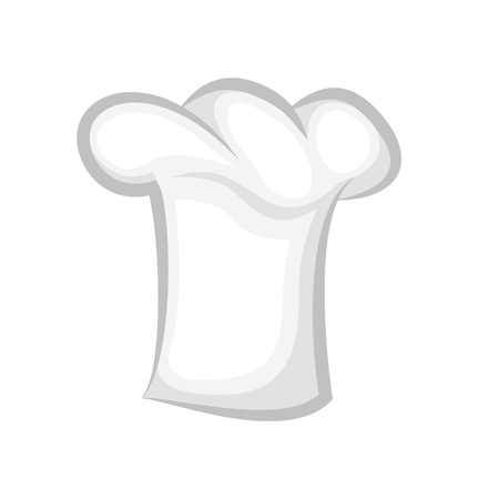 Clean Chef Cook Hat Realistic Stylish 3D Design