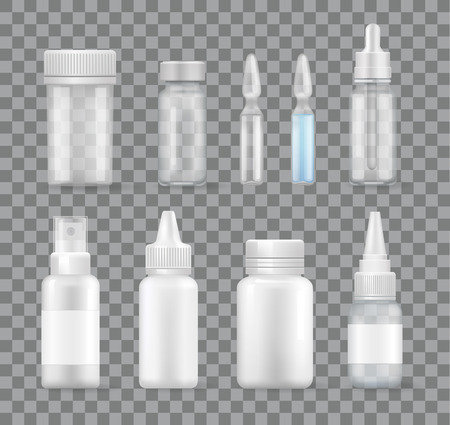 Medicament Isolated Transparent Vector Remedies