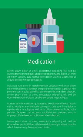 Medication Medicament in Containers, Antibiotics