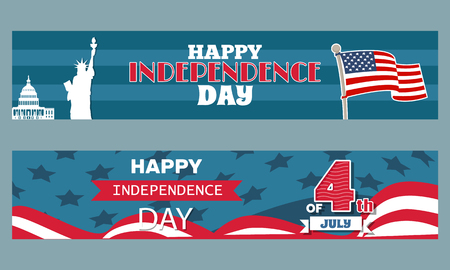 Happy Independence Day 4th July Patriotic Posters