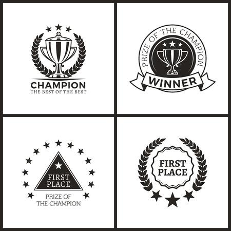 Champion Prize for Epic Win Promo Emblems Set