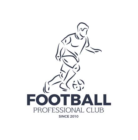 Football Professional Club Since 2010 Badge Vector