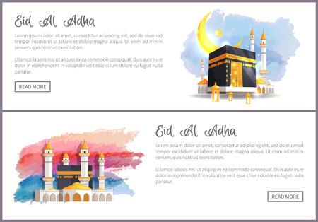 Eid Al Adha Holiday Online Promotion Templates