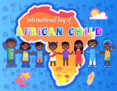 International Day of Child Vector Illustration