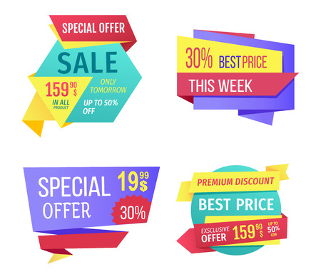 Special Offer Sale This Week Vector Illustration