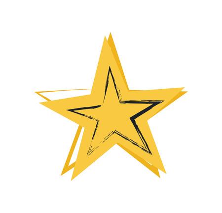 Star Symbol of Greatness, Vector Illustration