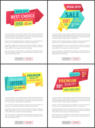 Sale Only Tomorrow Discount Vector Illustration Stock Photo