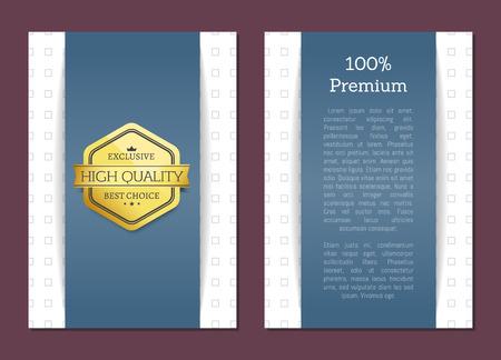 Premium Exclusive Quality Vector Illustration
