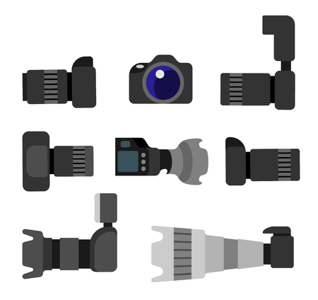 Set High Resolution Action Cameras, Removable Lens
