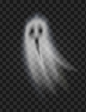Ghost Poltergeist on Transparent Background Vector