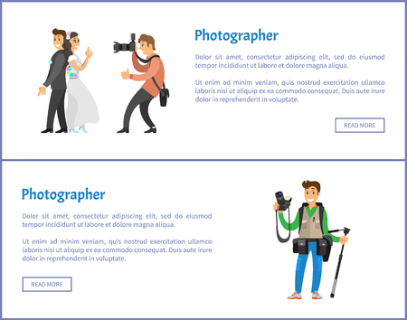 Wedding Photographer and Photojournalist Banners