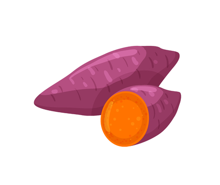 Beetroot Organic and Natural Food Icon Vector