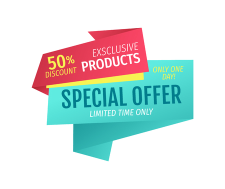 Exclusive Products for Half Price One Day Offer