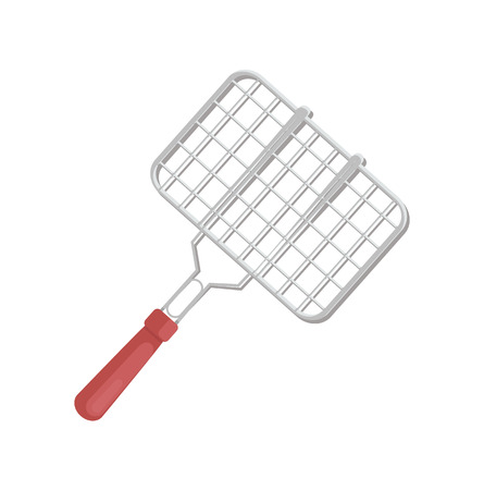 BBQ Cooking Tool Grill Icon Vector Illustration