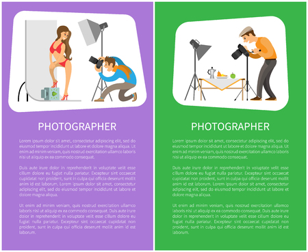 Studio and Still Life Photographers Posters Text