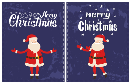 Merry Christmas Santa Claus Wishes Happy Holidays