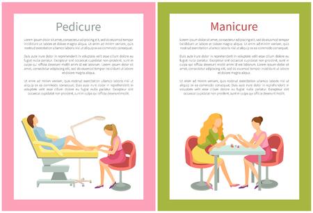 Manicure and Pedicure Procedures Spa Beauty Salon