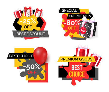 Best Discount Reduction Half Price Off Banners