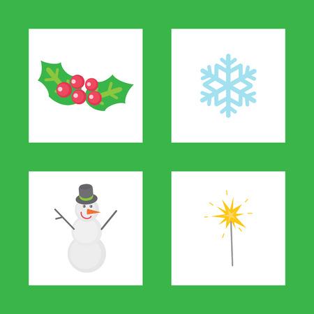 Christmas Mistletoe, Symbols of Winter Holiday