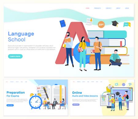 Sprachschule, Prüfungsvorbereitung für Studenten