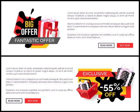 Shopping Products Sellout 55 Off Price Banner
