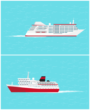 Veicoli da viaggio per il trasporto di acqua significa Vector