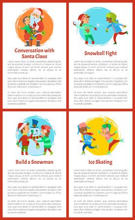 Conversation with Santa Claus, Games of Children