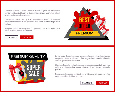 Super Sale Landing Pages, Push Buttons Read More