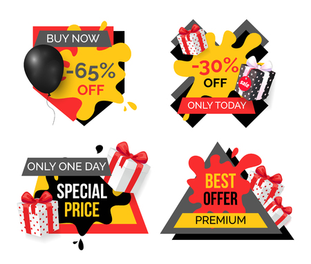 Exclusive Products, Hot Sale Discounts Offers Illustration