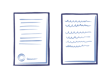 Business Documentation Template, Web App Letter