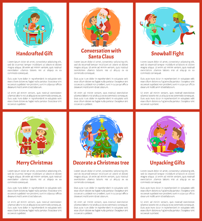 Handcrafted Gifts and Conversation with Santa