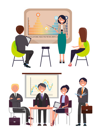 Infographics Strategy Presentation on Meeting