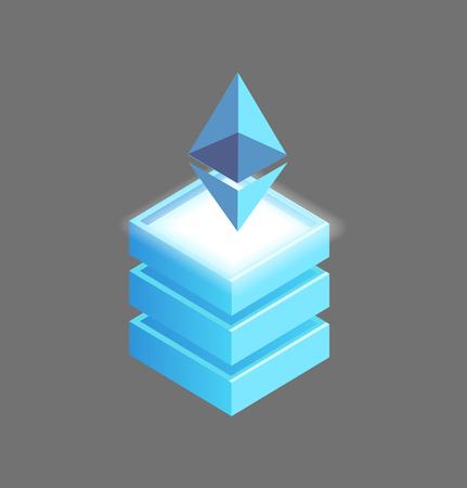 Ethereum Open-Source, Public Blockchain Platform Illustration