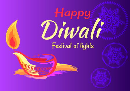 Happy Diwali Festival of Lights 2018 Banner