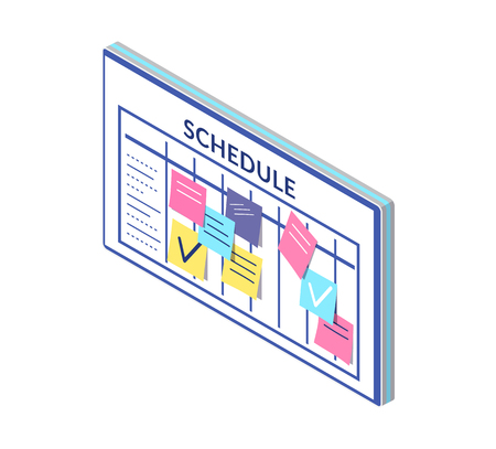 Schedule, Timetable of Company Workers Board Notes