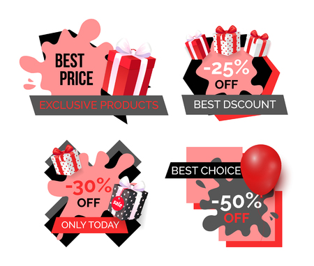 Best Price, Discount and Premium Products Set