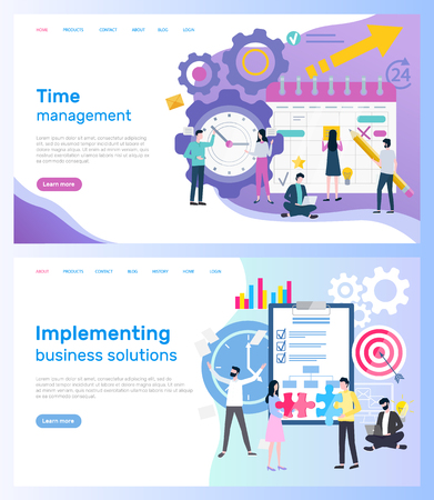 Time management and implementing business solutions