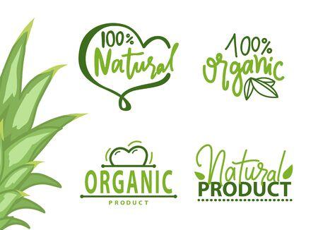 Garantie de produit 100 pour cent biologique et naturel