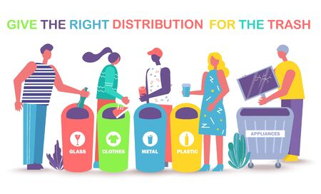 Give right distribution for trash. Smart sorting, processing and recycling.