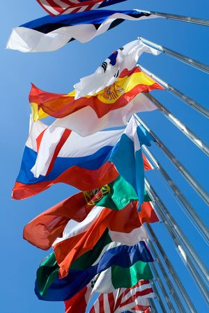 International Flags Stock Photo - 3654268