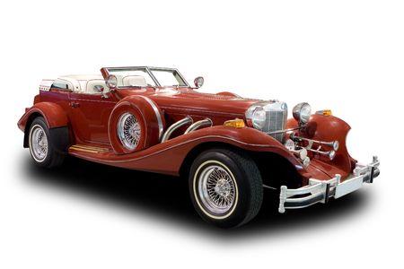 Antike Car Standard-Bild - 4699942
