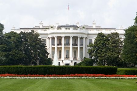 presidents': The Back Side of the White House in Washington DC