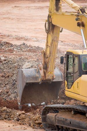 Tractor Excavating Stock Photo - 7244081