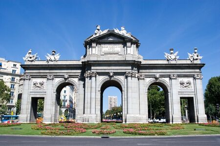 Puerta de Alcala in Madrid, Spain Stock Photo - 7609703