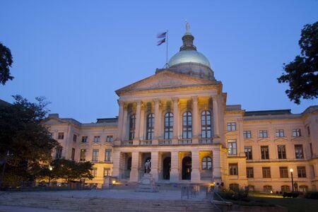 ATLANTA, GEORGIE - 8 ao�t: Le Georgia State Capitol Building, le 8 ao�t 2011 � Atlanta, en G�orgie. Le b�timent a �t� construit en 1889 et une restauration de la Chambre et du S�nat chambres a �t� r�alis�e en 1997.