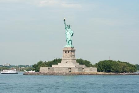 statue of liberty: The Statue of Liberty on Ellis Island