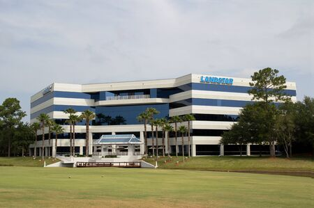 JACKSONVILLE, FL-APR 26: The Landstar System, Inc. headquarters building in Jacksonville, Florida on April 26, 2012.  Landstar System, Inc. reported 2012 first quarter record net income of $26.8 million compared to net income of $20.6 million for the 2011