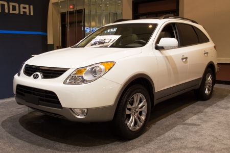 JACKSONVILLE FLORIDAFEBRUARY A Hyundai Veracruz At - Jacksonville car show
