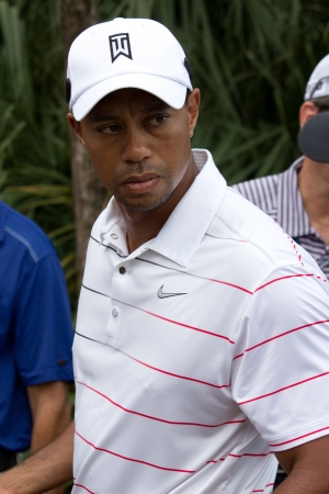 ponte: PONTE VEDRA BEACH, FL-MAY 08: Tiger Woods at The Players Championship, PGA Tour, on practice day May 08, 2012 at The TPC Sawgrass, Ponte Vedra Beach, Florida, USA.