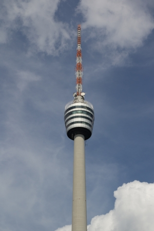 TV Tower Building in Stuttgart, Germany